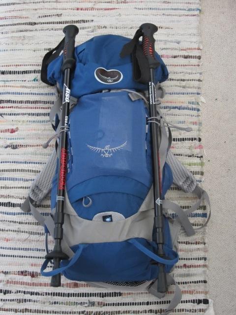 My new Osprey Kestrel 28l day pack