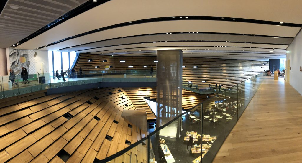 V&A Dundee interior