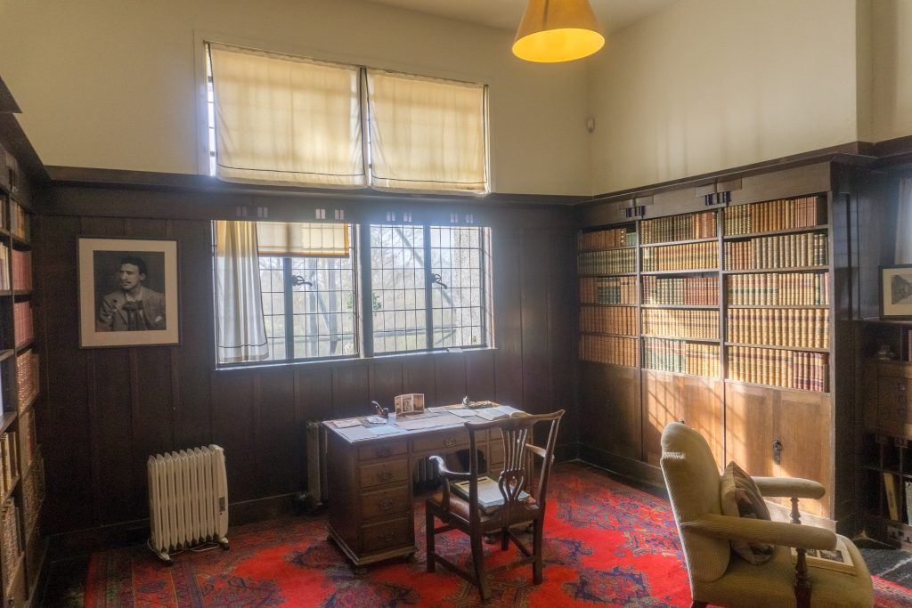 Hill House library
