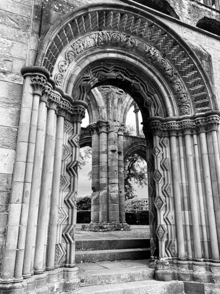 Jedburgh Abbey Door